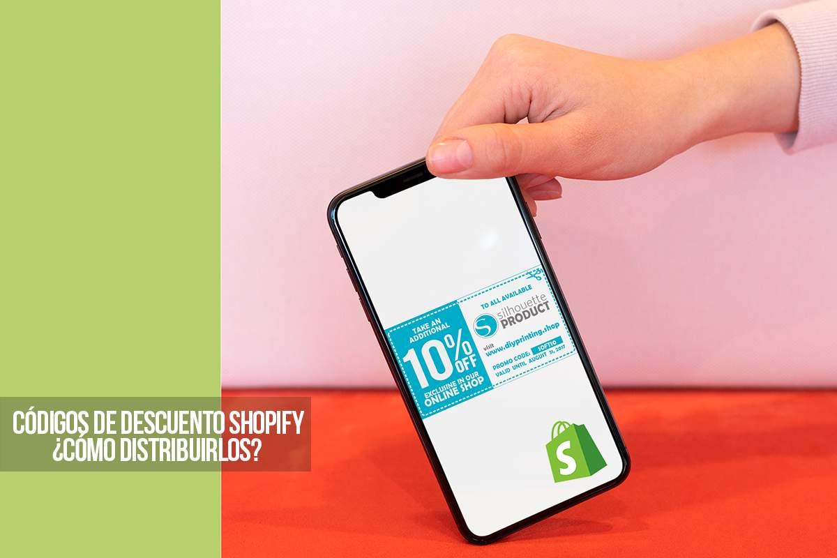 Códigos de descuento de Shopify: ¿cómo distribuirlos?