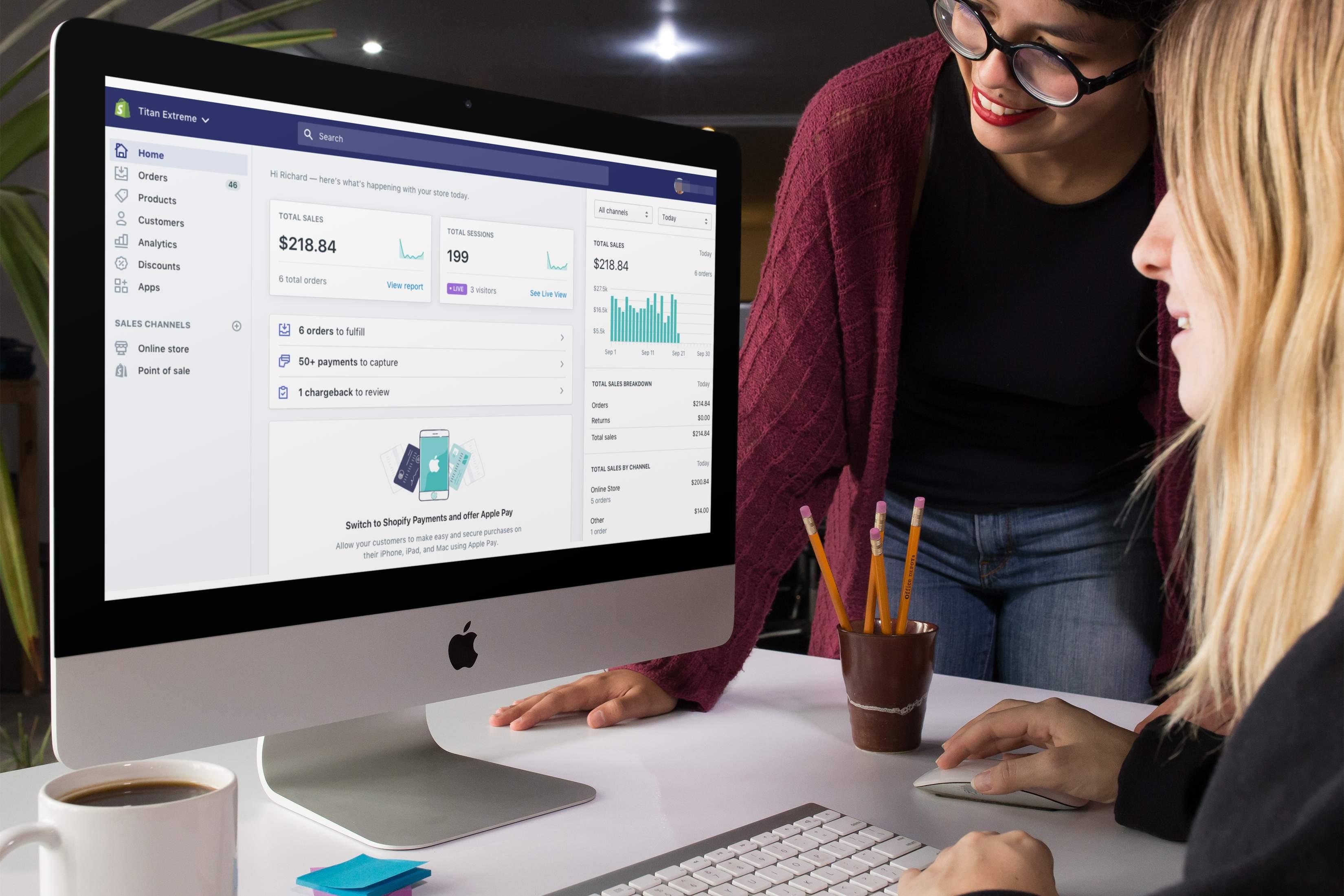 Panel de control Shopify: consejos para sacarle el máximo partido