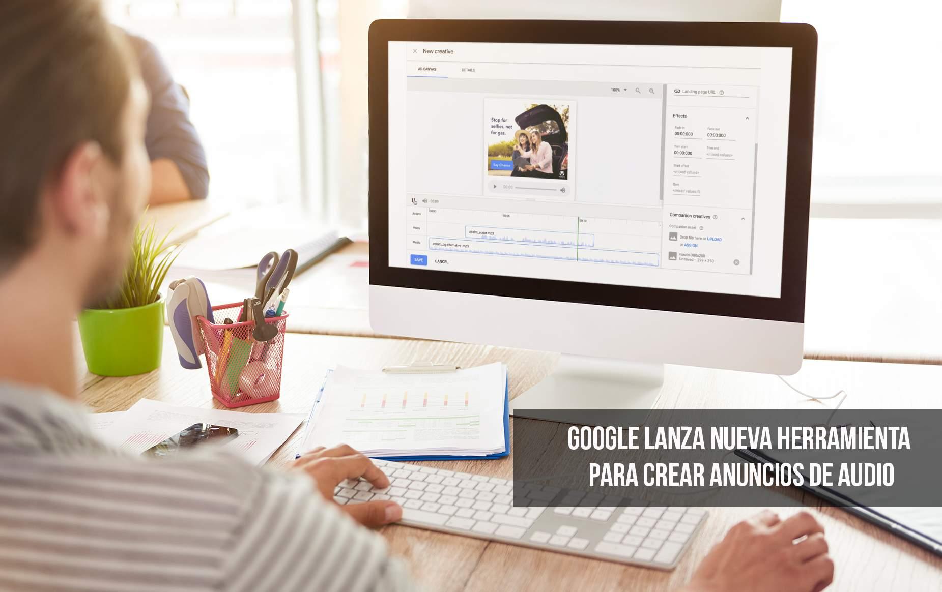 Google Audio Mixer: anuncios de audio digital para tu tienda online