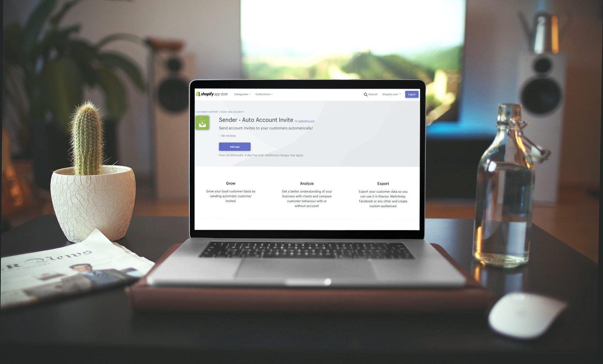 Sender – Auto Account Invite: la aplicación para unirte a tus clientes con e-mails de registro automáticos