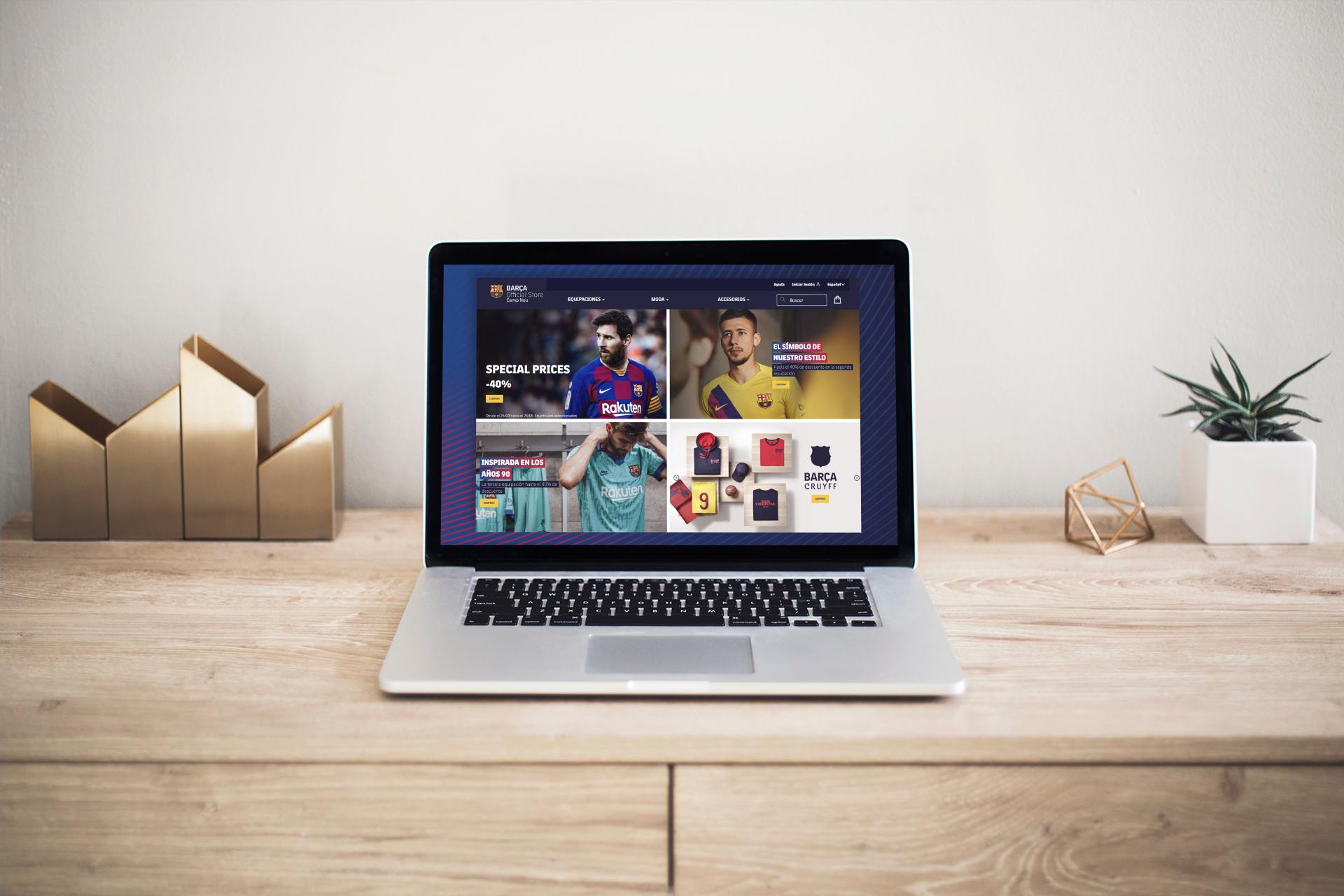 ¡El FC Barcelona lanza su propio e-Commerce!